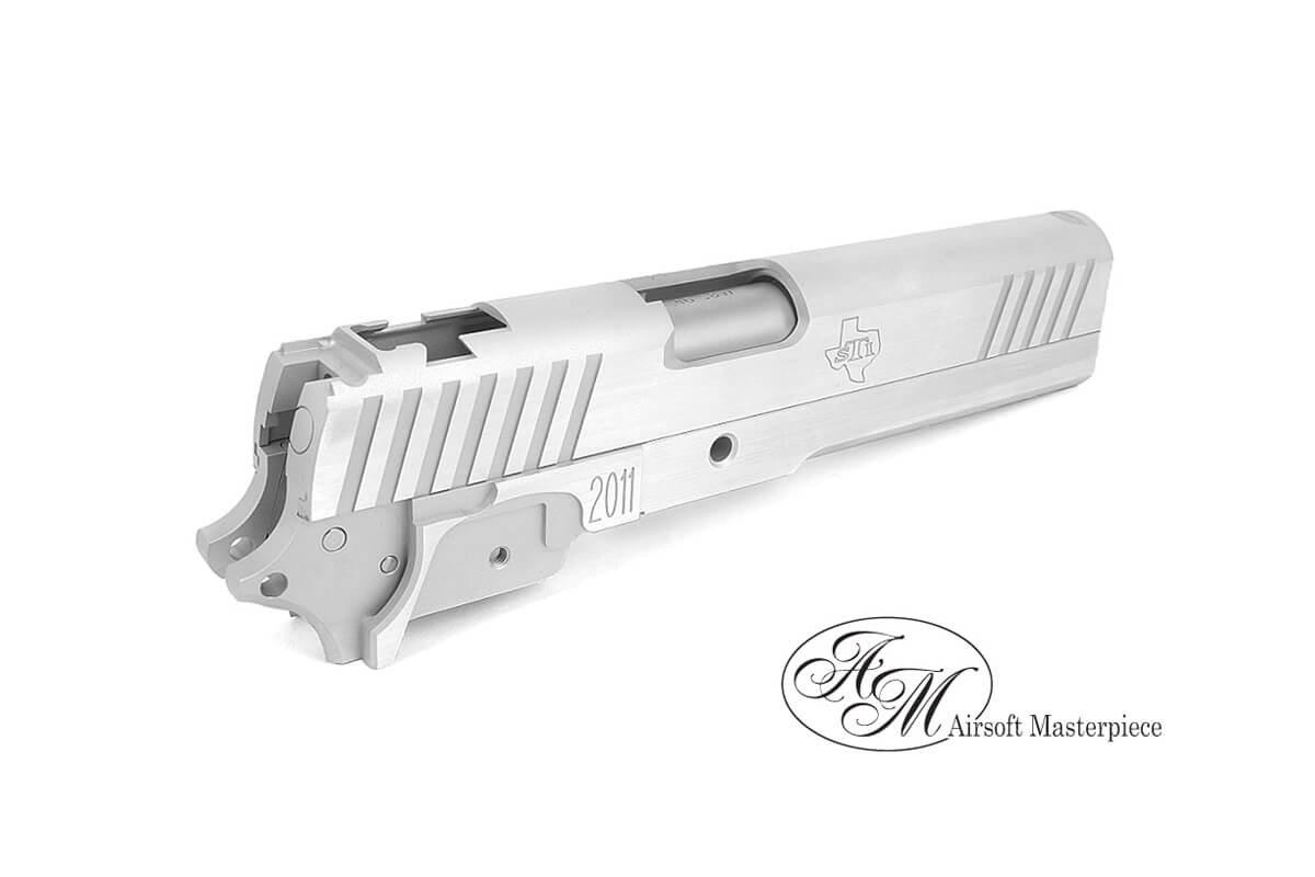 Airsoft Masterpiece Eagle Long Dust Kit For Hi-Capa (Silver)