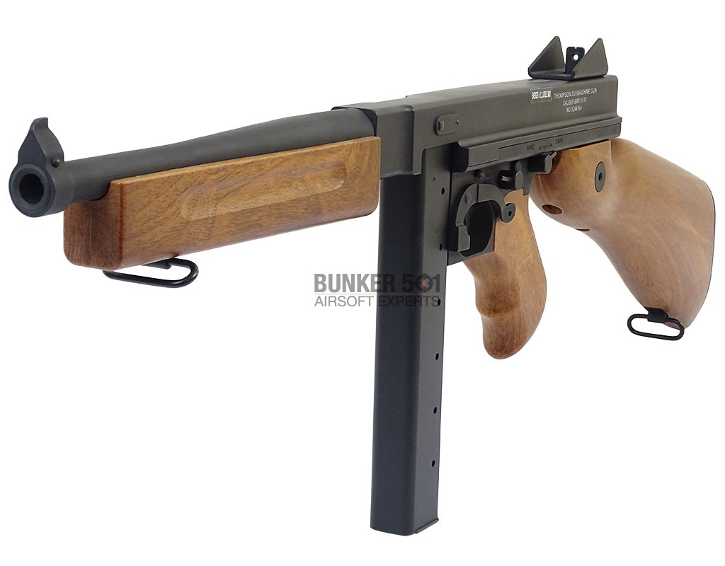 Cyma Thompson M1a1 Full Metal And Abs Stock – Bunker 501