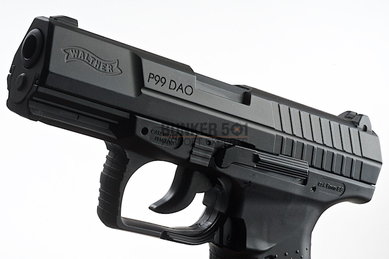 Umarex P99 Dao Co2 Blowback (Black) ⋆ Bunker 501
