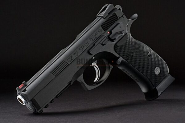Kj Works Aluminum Hand Grip And Magwell Set For Cz Sp-01 Shadow