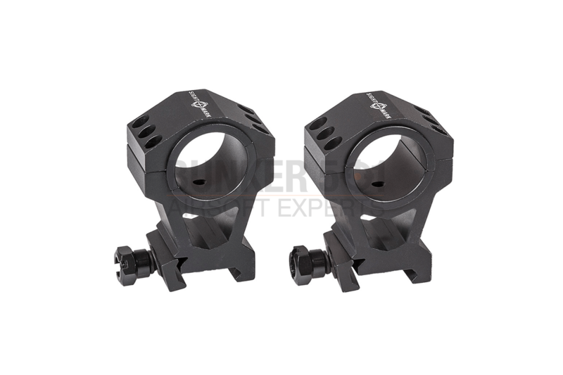 Sightmark 30mm / 1 Inch Extra High Height Rings