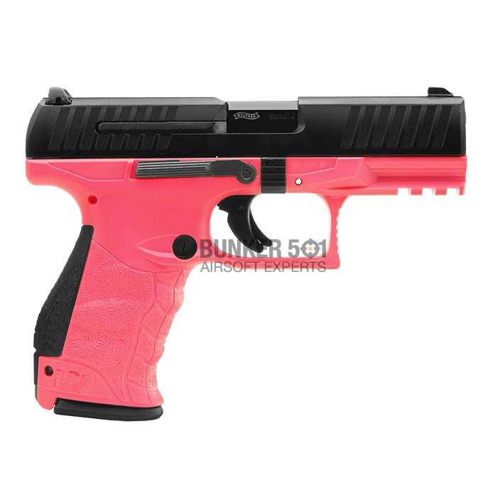 Umarex Walther Ppq M2 Gas / Co2 Blowback (Pink) ⋆ Bunker 501