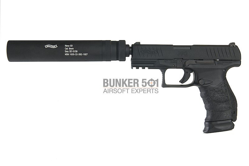 Umarex Walther Ppq M2 Duty Kit Co2 / Gas Blowback
