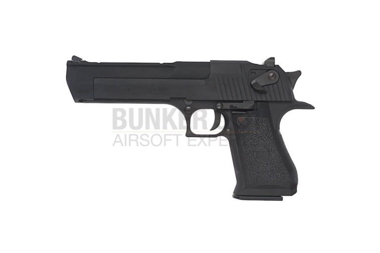 Licensed Desert Eagle GBB Black