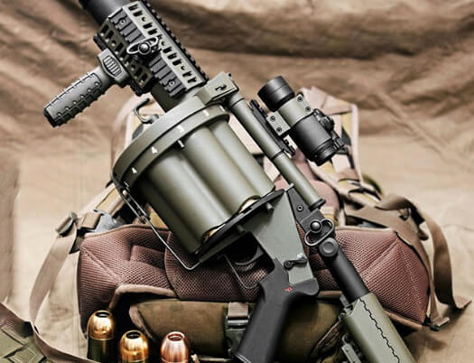 image of an airsoft category - grenade launcher - Bunker501